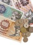 Dinero en circulación danés Imagen de archivo