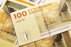 Dinero en circulación danés Fotos de archivo libres de regalías