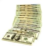 Dinero en circulación de los E.E.U.U. Fotos de archivo