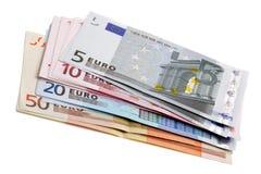 Dinero en circulación europeo Fotos de archivo