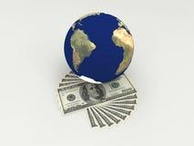 Dinero en el mundo. Fotografía de archivo