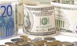 Dinero en el vector Fotos de archivo libres de regalías