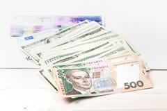 Dinero en el vector Imágenes de archivo libres de regalías
