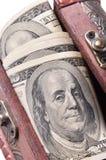 Dinero en una caja Imagen de archivo libre de regalías