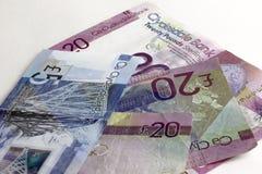 Dinero escocés Banco de Clydesdale foto de archivo libre de regalías