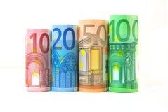 Dinero euro Imagen de archivo libre de regalías