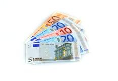 Dinero euro. Imagen de archivo libre de regalías