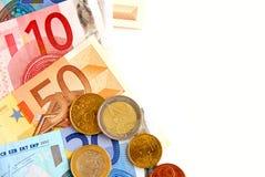 Dinero euro Imagenes de archivo