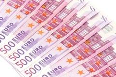 Dinero euro Foto de archivo libre de regalías