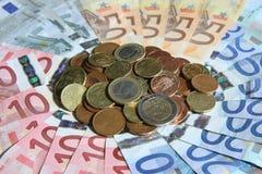 Dinero euro Foto de archivo