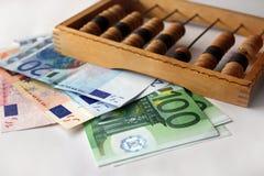Dinero euro Fotos de archivo