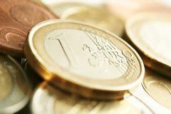 Dinero EURO Fotos de archivo libres de regalías