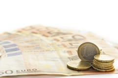 Dinero - euro Foto de archivo libre de regalías