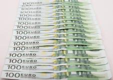 Dinero - euro Fotos de archivo libres de regalías