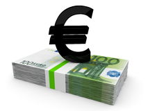 Dinero europeo Fotografía de archivo