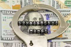 Dinero falsificado imagen de archivo libre de regalías