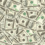 Dinero inconsútil Imágenes de archivo libres de regalías