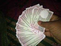 Dinero indio imagenes de archivo
