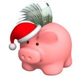 Dinero a la Navidad Imagen de archivo