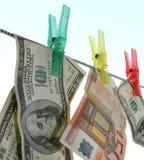 Dinero no tan sucio. Imagen de archivo