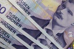 Dinero noruego Fotos de archivo