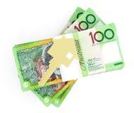 Dinero para la casa Fotos de archivo