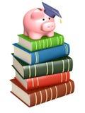 Dinero para la educación Foto de archivo libre de regalías
