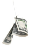 Dinero para un gancho de leva Fotos de archivo