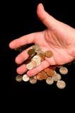 Dinero perdidoso Fotos de archivo