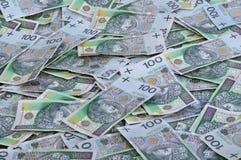Dinero polaco Foto de archivo libre de regalías