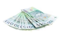 Dinero polaco Fotos de archivo