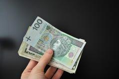 Dinero polaco fotos de archivo libres de regalías
