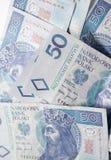 Dinero polaco Imágenes de archivo libres de regalías