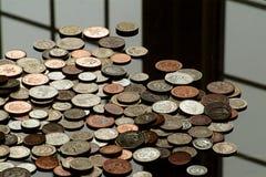 Dinero por un día gris fotografía de archivo libre de regalías