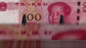 """Dinero que cuenta el †""""100 Yuan de la máquina metrajes"""