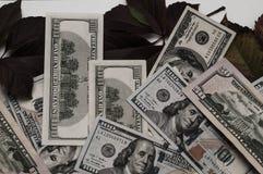 Dinero retro Fondo de los dólares de América del dinero imagen de archivo