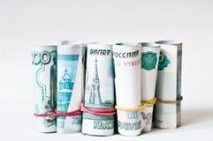 Dinero ruso Foto de archivo libre de regalías