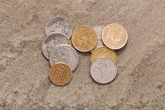 Dinero ruso. Imagen de archivo