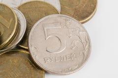 Dinero ruso Fotografía de archivo