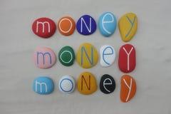 Dinero, dinero, dinero, solamente dinero foto de archivo libre de regalías