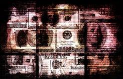 Dinero sucio Foto de archivo libre de regalías