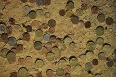 Dinero sucio Fotografía de archivo libre de regalías