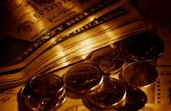 Dinero suelto Fotos de archivo libres de regalías
