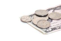 Dinero suelto Imagen de archivo libre de regalías