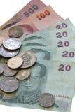 Dinero tailandés Imagen de archivo libre de regalías