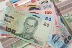Dinero tailandés Fotos de archivo libres de regalías