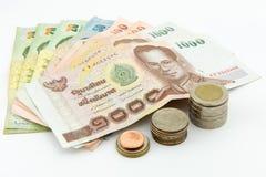 Dinero Tailandia Fotografía de archivo libre de regalías