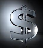 Dinero transparente Fotos de archivo