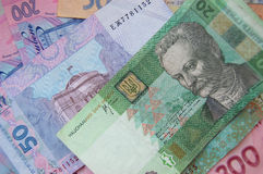 Dinero ucraniano fotografía de archivo libre de regalías