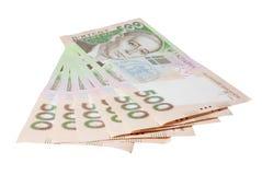 Dinero ucraniano (hryvnia) Fotografía de archivo libre de regalías